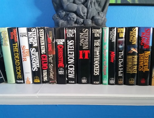 I finished reading EVERY Stephen King book!